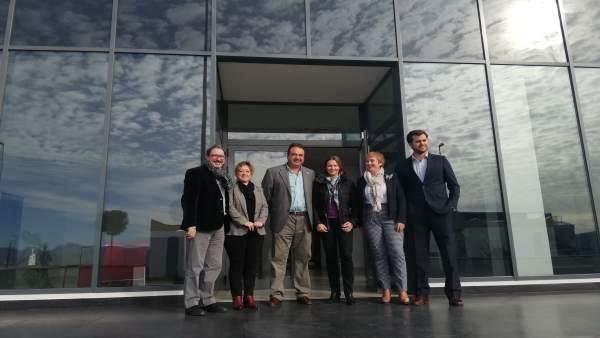 La Junta valora el crecimiento de Plasal en Alcaudete y su protagonismo dentro del sector del plástico